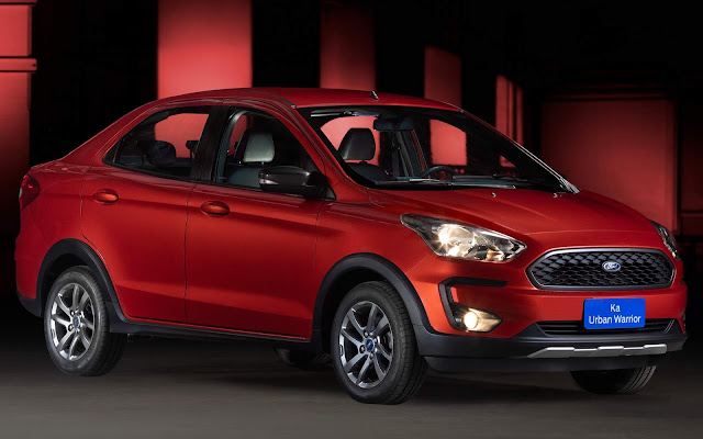 Ford Ka Sedan 2019 Urban Warrior