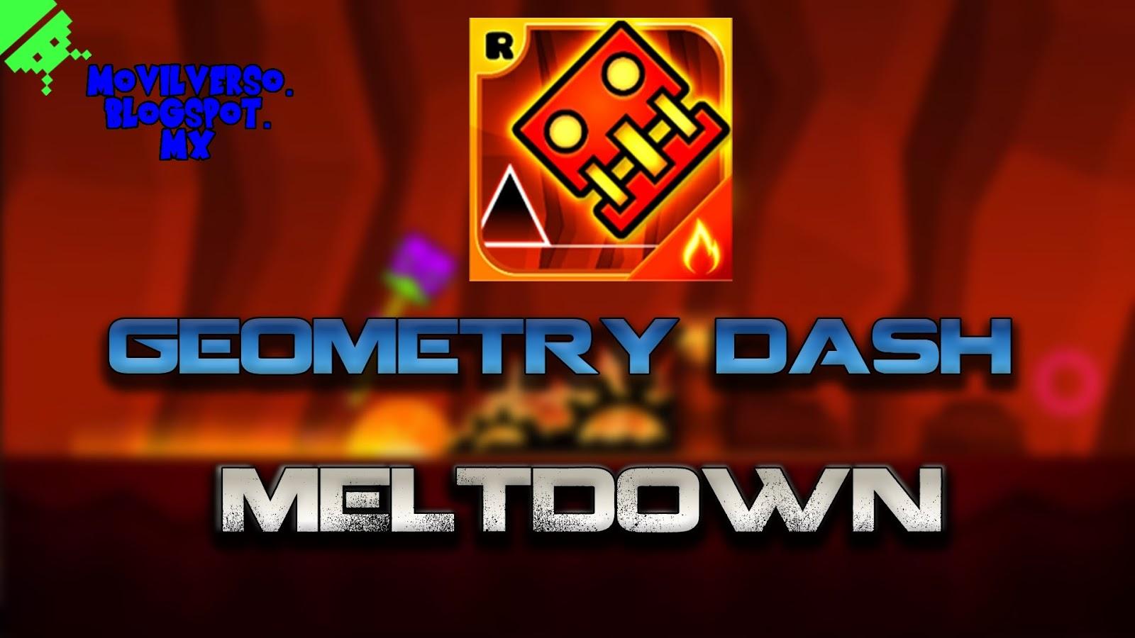 apk geometry dash meltdown