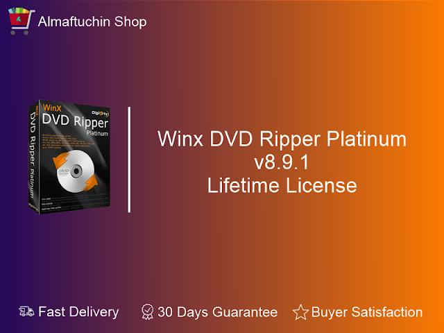 Original Winx DVD Ripper Platinum 8 9 1 Full Lifetime