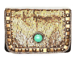 urban outfitters jeweled clutch