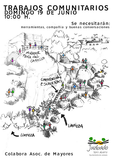 Trabajos comunitarios voluntariado Juzbado