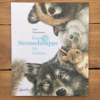 """""""Eine Sternschnuppe im Schnee"""" von Yumi Shimokawara, Atlantis Verlag, Bilderbuch"""