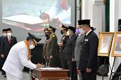 Gubernur Lantik Bupati Cianjur