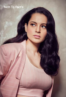 What is the monthly income of Kangana Ranaut?