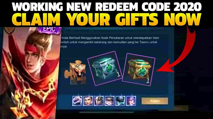 Mobile Legends 2020 New Working Redeem Codes