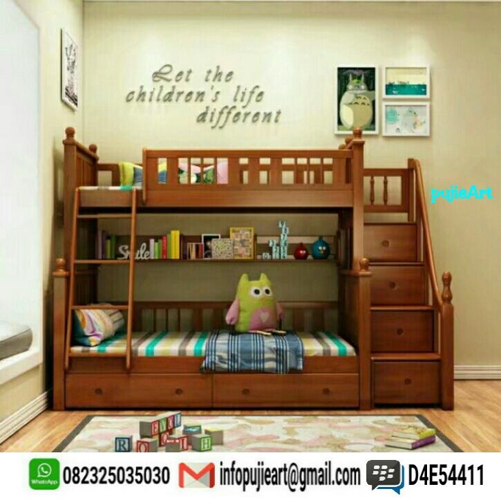Furniture Jepara: Model tempat tidur anak