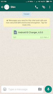 WhatsApp trick to send apps