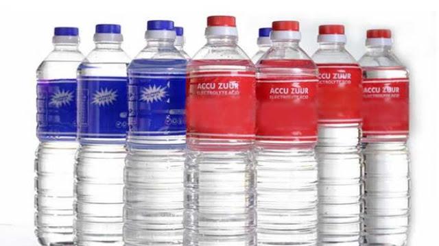 Perbedaan air Aki merah dan air Aki biru