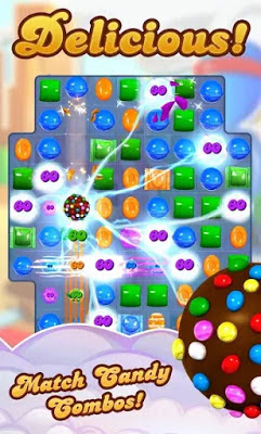 تحميل لعبة الالغاز Candy Crush Saga النسخة المهكرة للاجهزة الاندرويد باخر تحديث