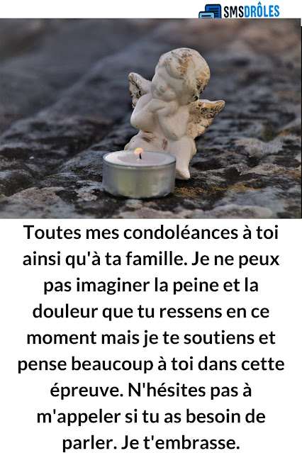 texte condoléances