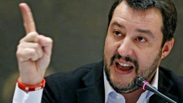 Ο Ματέο Σαλβίνι πυροδοτεί κυβερνητική κρίση