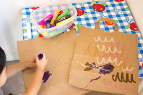 Easy Fall Craft- Stuffed Recycled Owl for preschoolers and Kids