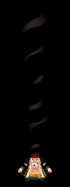 マーシャル・D・ティーチのイラスト(ONE PIECE)