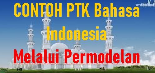 Contoh PTK  Bahasa Indonesia Peningkatan Keterampilan Membaca Puisi Melalui Pemodelan pada Siswa Sekolah Dasar/Madrasah