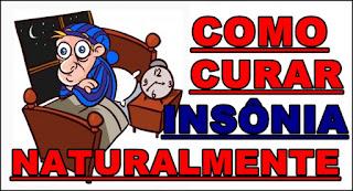 Como curar insônia naturalmente