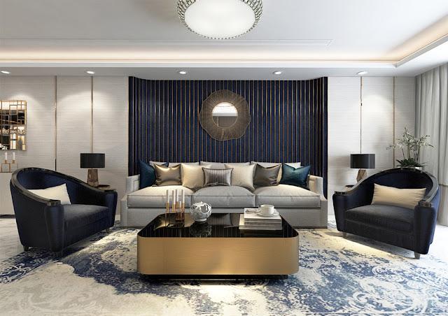 Thiết kế mẫu phòng khách