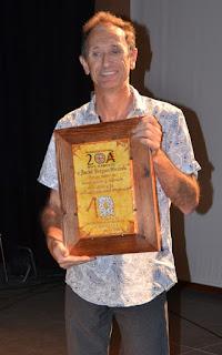 Anchel Vergara homenajeado en la X Trobada de Gaita de Boto