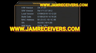 DK V1.01 NEW POWERVU SOFTWARES 29 JULY 2019 BY JAMRECEIVERS
