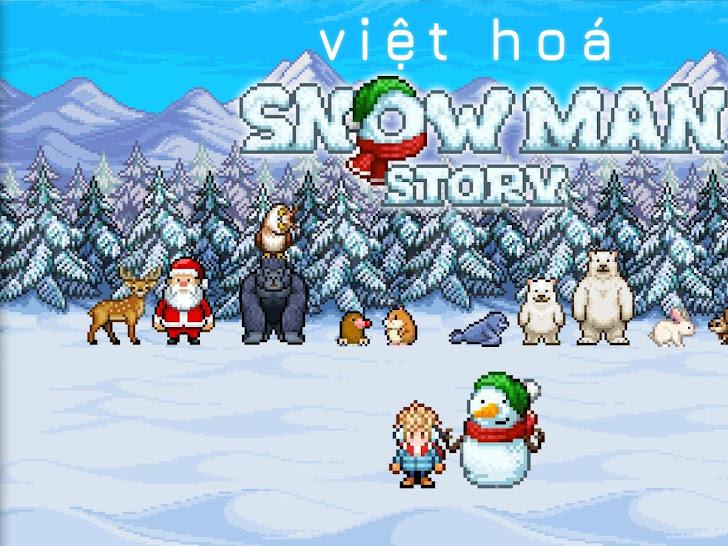 Câu Truyện Người Tuyết | Game Android IOS Việt Hoá - Snowman Story