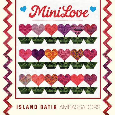 Island Batik ambassador mini quilt