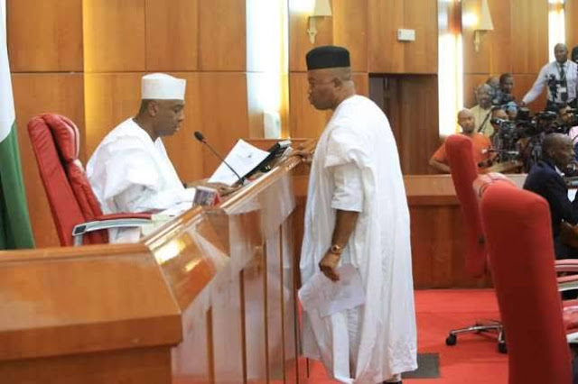 Who Takes Over Saraki's Seat Big Trouble Awaiting