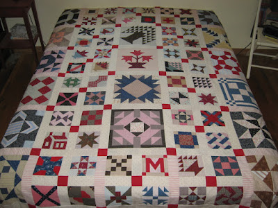 Cheddarback quilt top