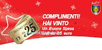 Logo Vince un buono spesa Lidl da 25€! Partecipa anche tu al Grande Concorso Magico Natale
