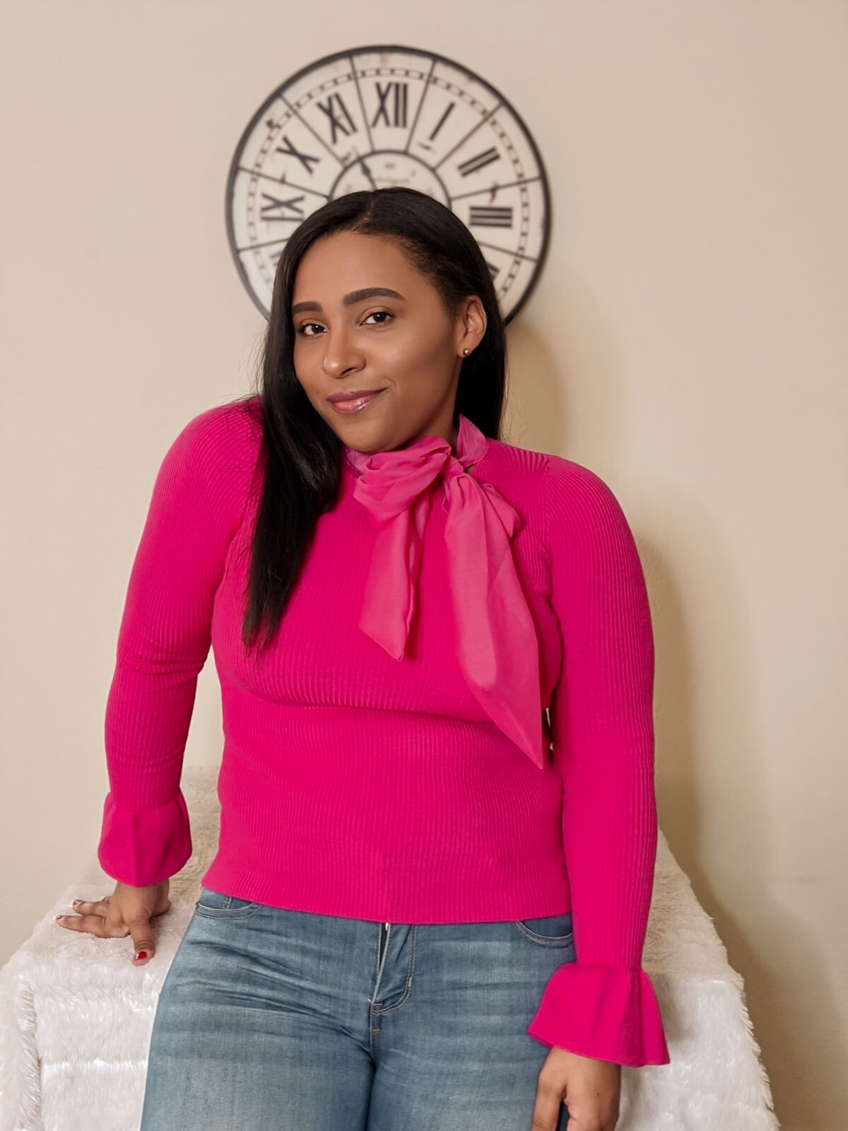 femme luxe, luxe gal, spring tops, fashion tops, pink bow tops, spring outfit ideas, pattys kloset.