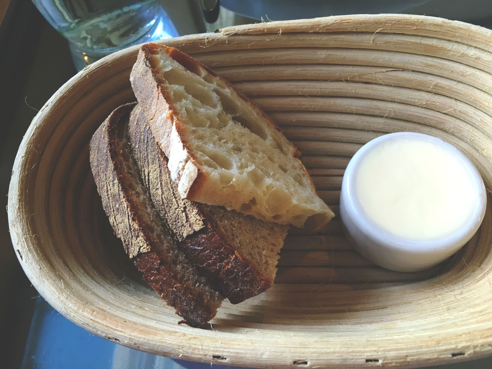 bread at Ad Hoc - a restaurant in Napa, California