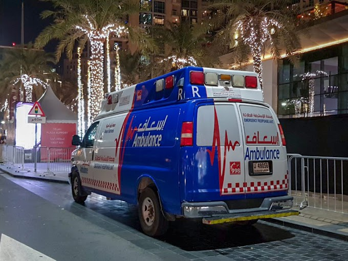 I called 999 Emergency in Dubai and the response was amazing