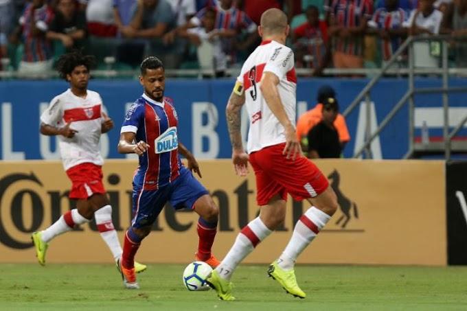 Bahia bate CRB na Fonte Nova e avança na Copa do Brasil