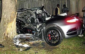 Malaysia News Woman Dies In Sports Car Crash