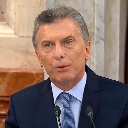 Macri inauguró un nuevo período de sesiones ordinarias en el Congreso