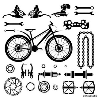 Parts Of Bicycle And Their Uses.
