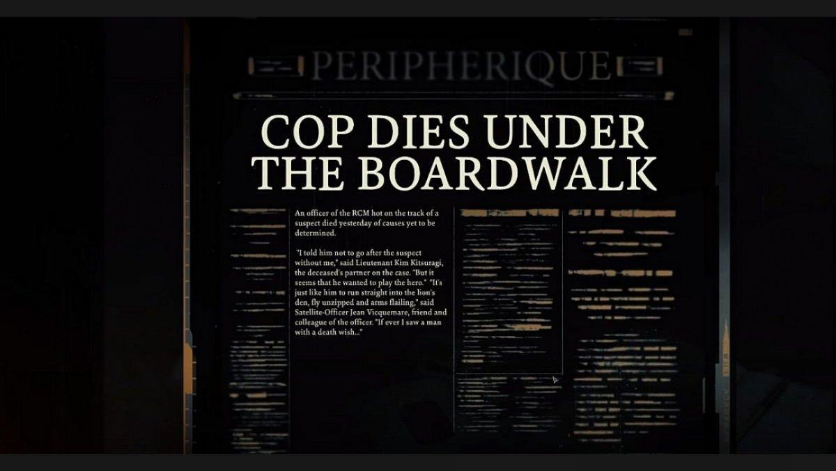 Cop Dies Under The Boardwalk