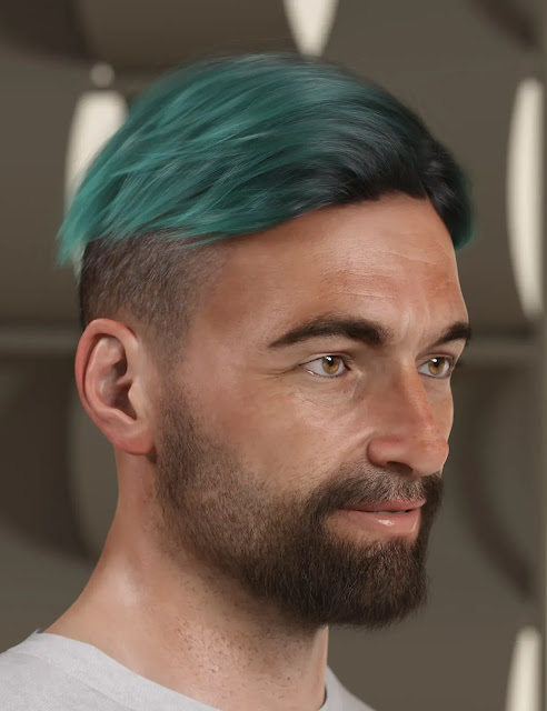 Texture Expansion for Short Fade Hair