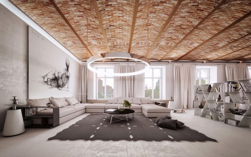 brick-ceiling-design