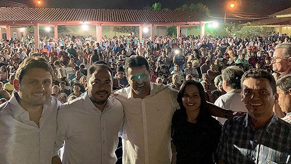 Deputado Juscelino Filho segue fortalecendo o DEMOCRATAS no Maranhão!!!