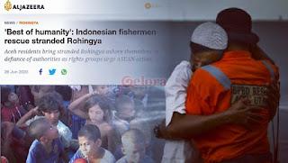 Tanpa Teriak Aku Pancasila, Warga Aceh Penolong Pengungsi Rohingya Dapat 'Best of Humanity'