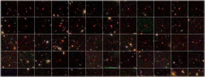 83 novos buracos negros supermassivos