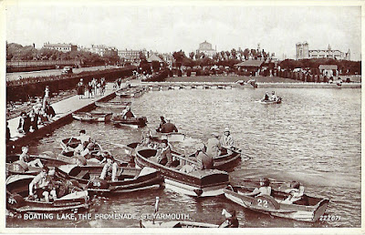 Great Yarmouth boating lake