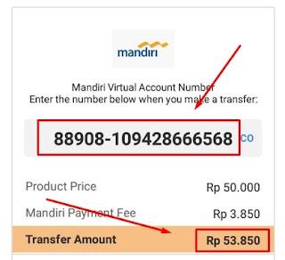Detail Informasi Pembayaran