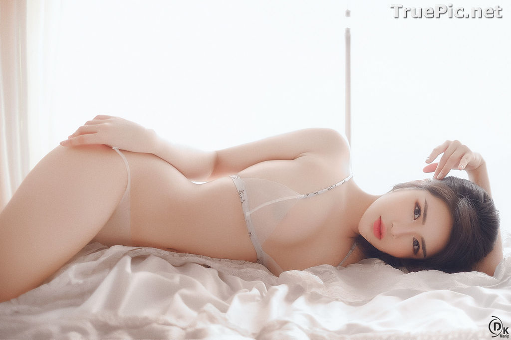 Image Vietnamese Model - Beautiful Girl in Sexy Transparent White Lingerie - TruePic.net - Picture-3