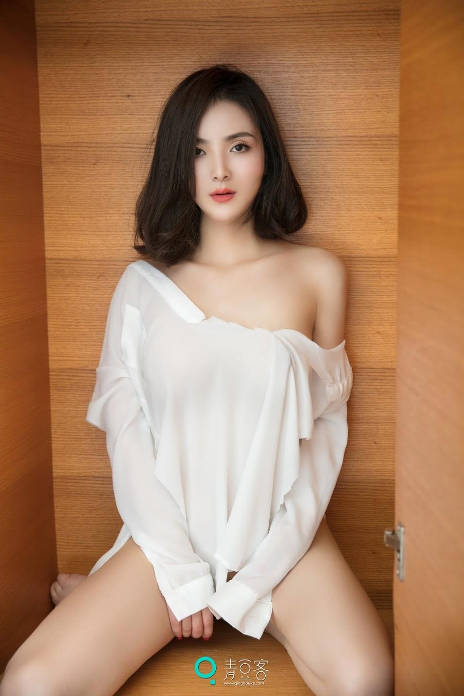 QingDouKe青豆客 NO061 2017.07.08 小熊 [55+1P-204M]