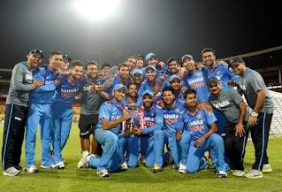 Australia tour of India 7-Match ODI Series 2013