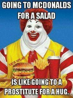 Going to Mcdonalds...