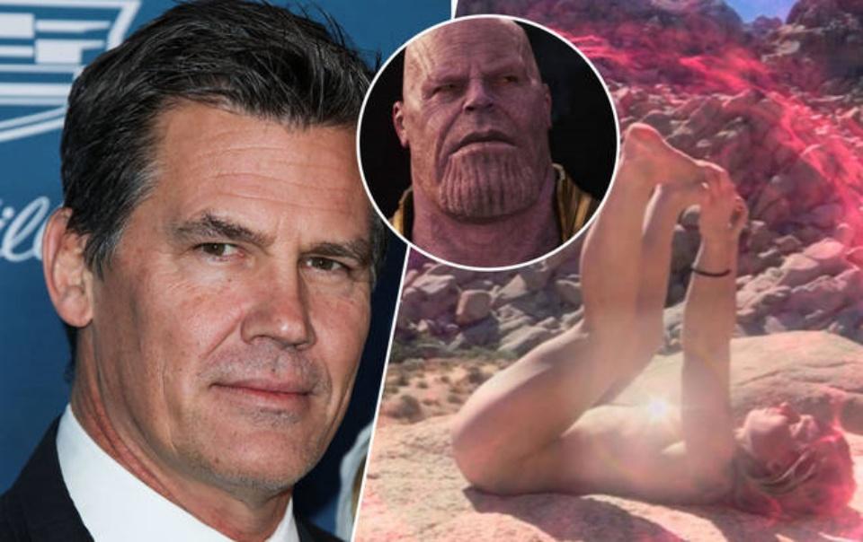 Thanos, Butt Sunning, Josh Brolin