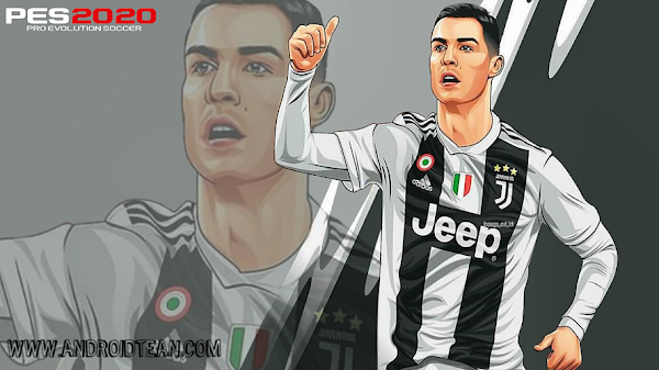 PES 2020 Cartoon Juventus PPSSPP Camera PS4 Android Offline