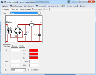 Screenshot 5 : MiscElectronic Calculations
