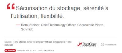 Une étude indépendante menée auprès des clients de DataCore sur sa technologie de stockage